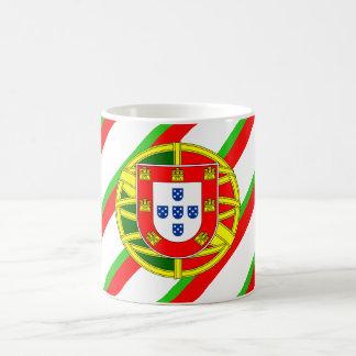 Drapeau portugais de rayures mug