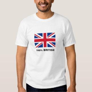 drapeau R-U, 100% les ANGLAIS T-shirt