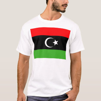 Drapeau rebelle de Libyen T-shirt