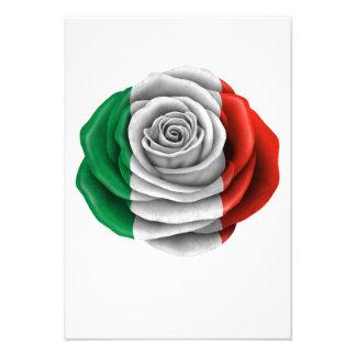 Drapeau rose d Italien Faire-part Personnalisés