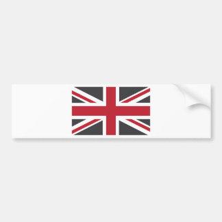 Drapeau rouge gris frais d'Union Jack les Anglais  Autocollants Pour Voiture