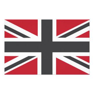 Drapeau anglais papier lettre papier lettre drapeau - Drapeau rouge avec drapeau anglais ...