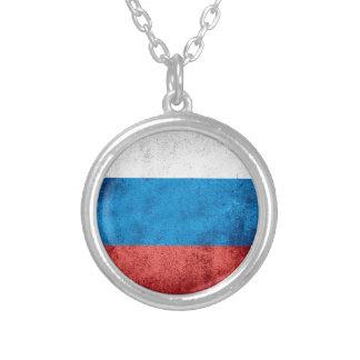 Drapeau russe collier