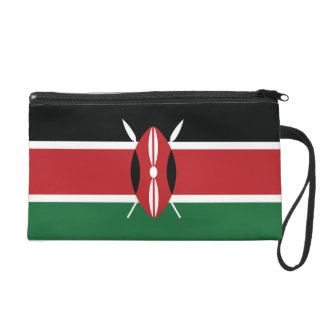 Drapeau simple du Kenya Sacs À Main Avec Dragonne