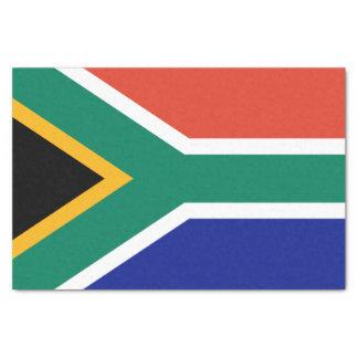 Drapeau sud-africain papier mousseline