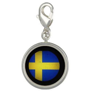 Drapeau suédois breloques