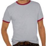 Drapeau Suisse-Américain de bouclier T-shirt