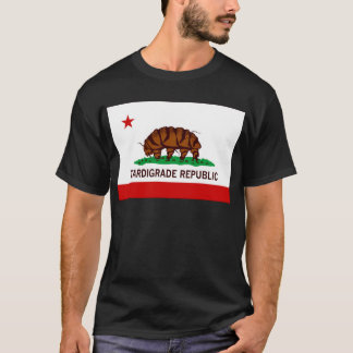 Drapeau Tardigrade de République T-shirt