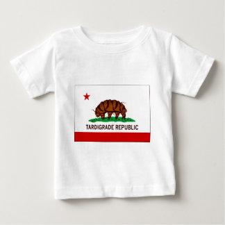 Drapeau Tardigrade de République T-shirt Pour Bébé