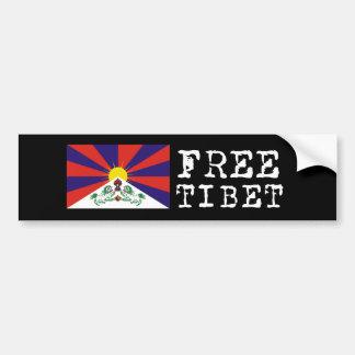 Drapeau tibétain Bumpersticker Autocollant Pour Voiture