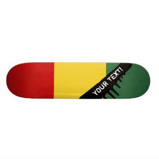 Drapeau traditionnel de Guinée Plateau De Skateboard