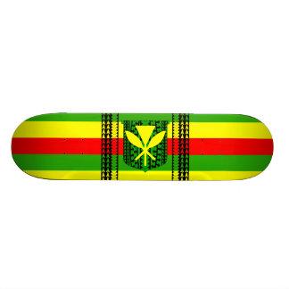 Drapeau tribal de Kanaka Maoli Skateboards Personnalisables