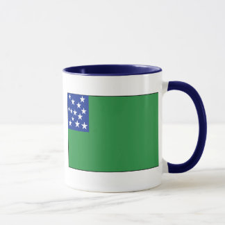 Drapeau vert de garçons de montagne mug