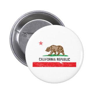 Drapeau vintage de la Californie Pin's