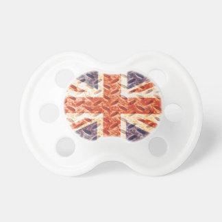 Drapeau vintage d'Union Jack les Anglais (R-U) de  Sucettes Pour Bébé