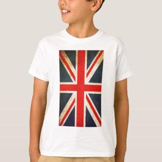 Drapeau vintage d'Union Jack les Anglais T-shirts