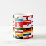 Drapeaux allemands d'état de Laender Mug À Café