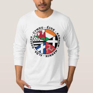 Drapeaux celtiques de nations t-shirt