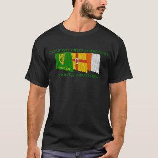 Drapeaux d'Armagh du comté T-shirt