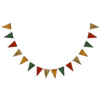 Drapeaux de bannière d'étamine de fiesta