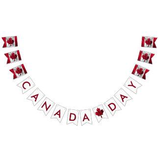 Drapeaux de Canadien de jour du Canada