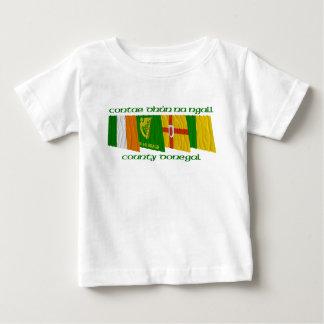 Drapeaux du Donegal du comté T-shirt Pour Bébé