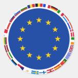 Drapeaux d'Union européenne Autocollants
