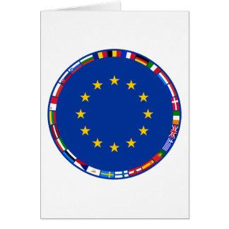 Drapeaux d'Union européenne Cartes