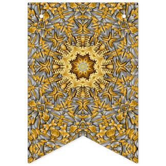 Drapeaux vintages d'étamine de kaléidoscope de