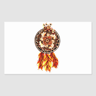 Dreamcatcher 2 sticker rectangulaire