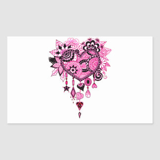 Dreamcatcher Sticker Rectangulaire