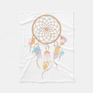Dreamcatcher tribal Boho Couverture Polaire