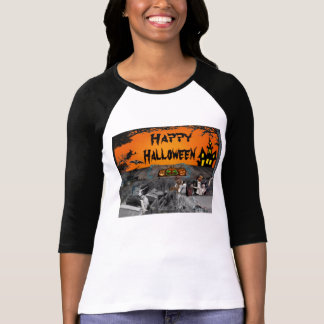 Drive-in hanté de Halloween T-shirt