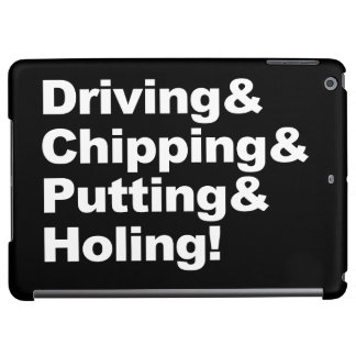 Driving&Chipping&Putting&Holing (blanc)