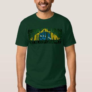 """Drogué de Jiu Jitsu de Brésilien - """"mangez le T-shirt"""