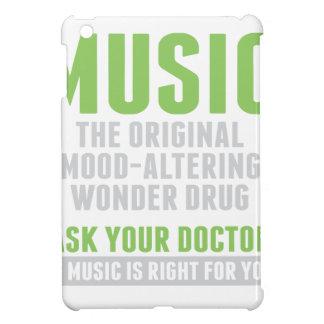 Drogue de merveille de musique étuis iPad mini