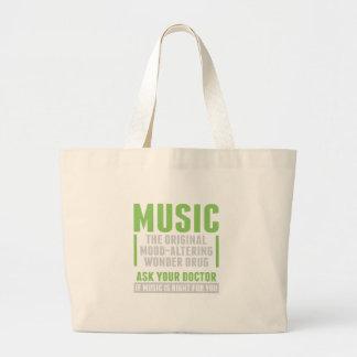 Drogue de merveille de musique grand sac