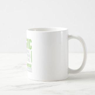 Drogue de merveille de musique mug