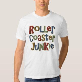Drogué de montagnes russes t-shirt