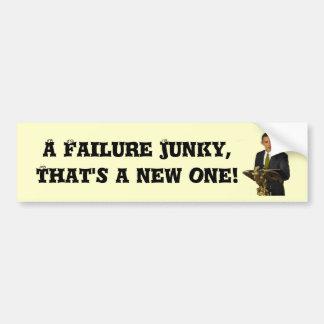 Drogué d'échec ! autocollant de voiture