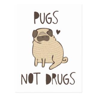 Drogues de carlins pas cartes postales