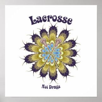 Drogues de lacrosse pas affiches