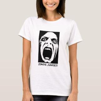 Drogués de zombi ! Réservoir de spaghetti T-shirt