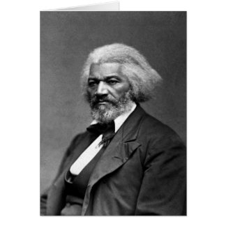 Droits civiques d'Afro-américain de Frederick Carte De Vœux