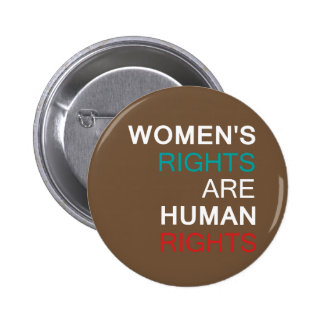 Droits de la femme badge