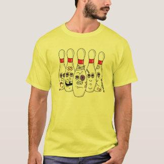 Drôle battez les goupilles de bowling t-shirt