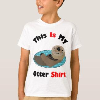 Drôle c'est ma chemise de loutre t-shirt