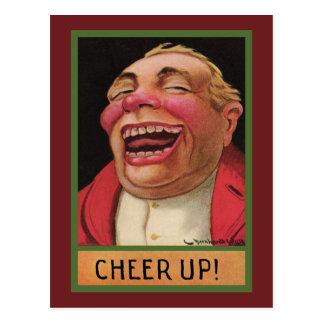 Drôle encouragez ! carte postale