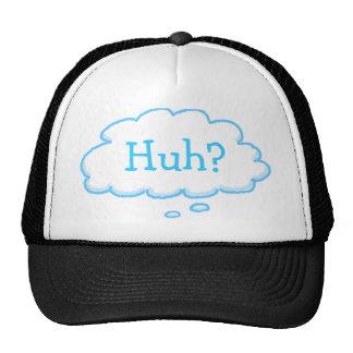 Drôle HUH ? Chapeau de camionneur de bulle de casquettes