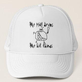 """Drôle """"je jeu bat du tambour"""" du casquette de"""